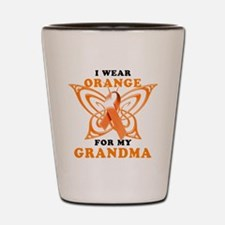 I Wear Orange for my Grandma Shot Glass