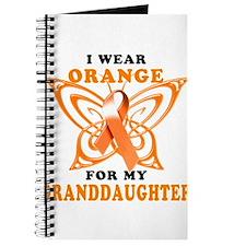 I Wear Orange for my Granddaughter Journal