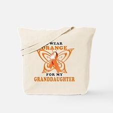 I Wear Orange for my Granddaughter Tote Bag
