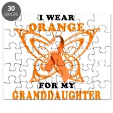 I Wear Orange for my Granddaughter Puzzle