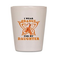 I Wear Orange for my Daughter Shot Glass