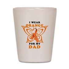 I Wear Orange for my Dad Shot Glass