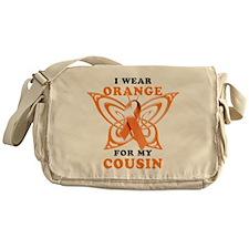 I Wear Orange for my Cousin Messenger Bag