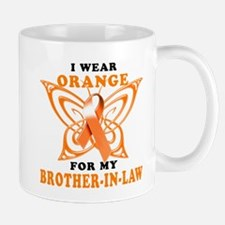 I Wear Orange for my Brother in Law Mug