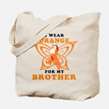 I Wear Orange for my Brother Tote Bag