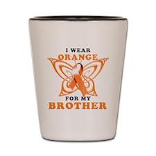 I Wear Orange for my Brother Shot Glass