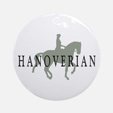 Piaffe Hanoverian Ornament (Round)