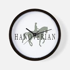 Piaffe Hanoverian Wall Clock