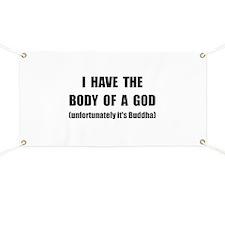 Buddha Body Banner