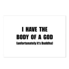 Buddha Body Postcards (Package of 8)
