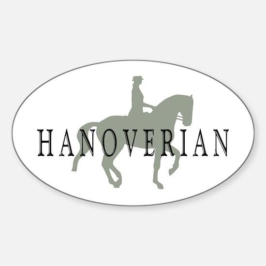 Piaffe Hanoverian Oval Decal