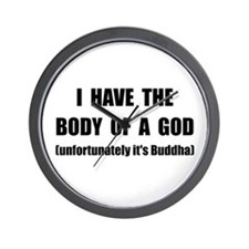 Buddha Body Wall Clock