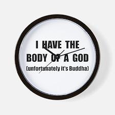 Buddha Body Wall Clock