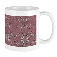 Romantic pattern gay power mug