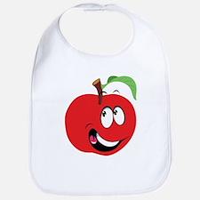 Happy Apple Bib