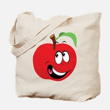 Happy Apple Tote Bag