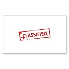 Classified Stamp Decal