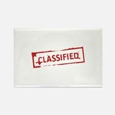 Classified Stamp Rectangle Magnet (10 pack)