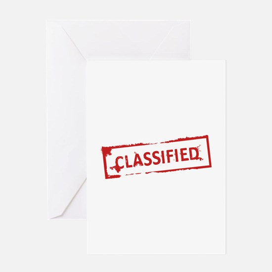Classified Stamp Greeting Card