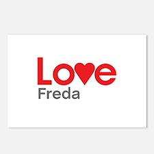 I Love Freda Postcards (Package of 8)