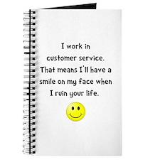 Customer Service Joke Journal