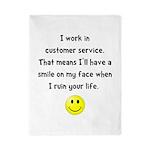 Customer Service Joke Twin Duvet