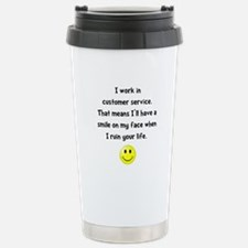 Customer Service Joke Travel Mug