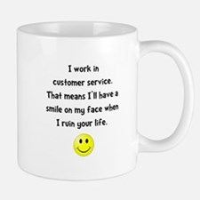 Customer Service Joke Mug