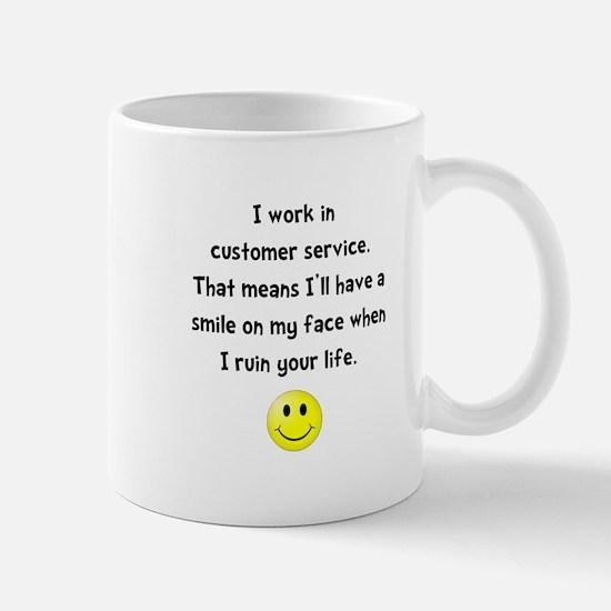 Customer Service Joke Mug