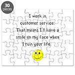 Customer Service Joke Puzzle