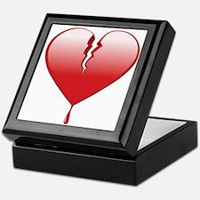 Broken Heart Keepsake Box