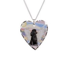 Cute Dog Necklace Heart Charm