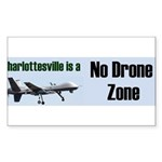 No Drone Zone Sticker