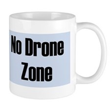 No Drone Zone Mug