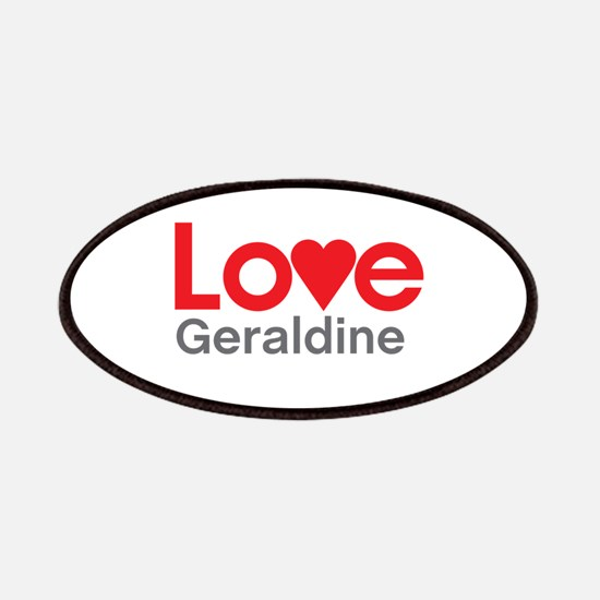 I Love Geraldine Patches