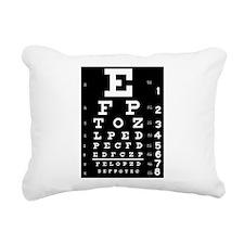 Eye chart gift Rectangular Canvas Pillow