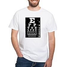 Eye chart gift Shirt