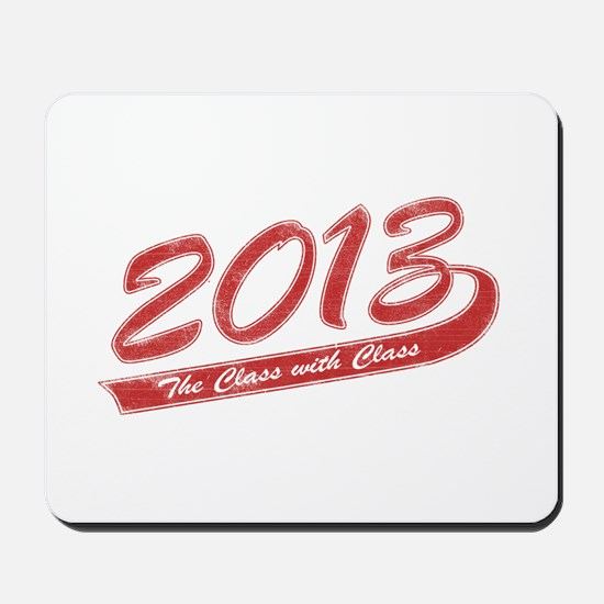 The Class with Class Mousepad