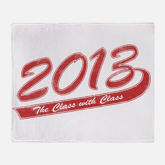 The Class with Class Throw Blanket