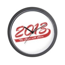 The Class with Class Wall Clock