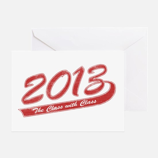 The Class with Class Greeting Card