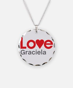 I Love Graciela Necklace