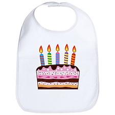 Birthday Cake Bib