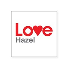 I Love Hazel Sticker