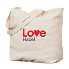 I Love Hazel Tote Bag