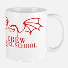Drew Dragon Red Mugs