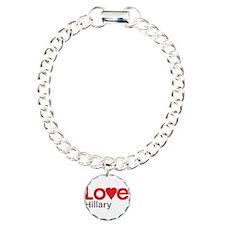 I Love Hillary Bracelet