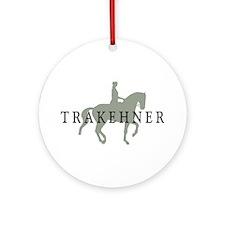 Piaffe - Trakehner Ornament (Round)