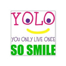 SMILEY YOLO Sticker