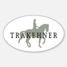 Piaffe - Trakehner Oval Decal